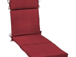Arden Selections Caliente Canvas Texture Outdoor Chaise Cushion   72 in l x 21 in W x 4 in H  Retail 88 49