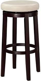 linon counter stool rice brown bottom