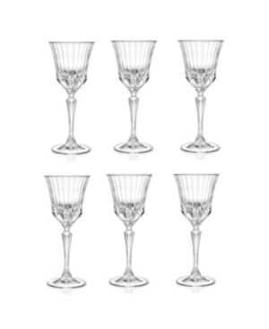 lorren Home Trends Rcr Adagio Crystal Water glass   Set of 6