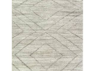 6 7  x 9    Grey  Sienna Moroccan Inspired Area Rug  Retail 192 99