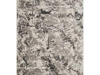 Gray Ivory Fleck loomed Area Rug 5 1 X7 6    Safavieh