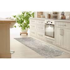 2  x 3  Rectangle MEDINA IVORY Kitchen Mat by Kavka Designs