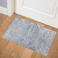 SAlAMANCA Blue Indoor Floor Mat By Kavka Designs