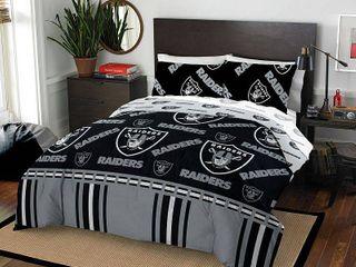 NFl las Vegas Raiders Bed In Bag Set