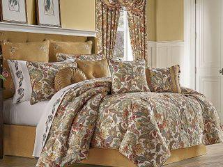 Five Queens Court August King 4 Piece Comforter Set Bedding