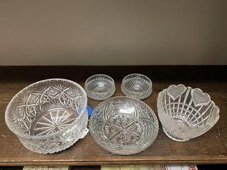 Asst  Glass Dishes