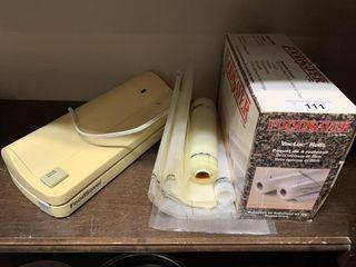 FoodSaver Vacuum Sealer and Rolls