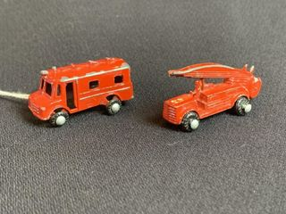 Miniature Cast Iron Toy Trucks