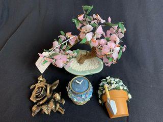 life Symbols Floral Decor