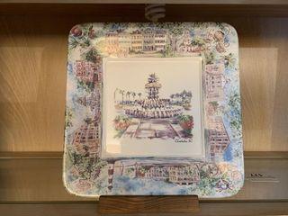 Charleston Foundation Decorative Plate