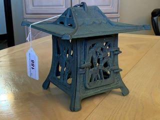 Square Pagoda Iron lantern