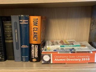 Books  Contents of Shelf