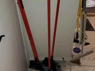libman Push Brooms   Asst  Brooms