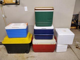 Igloo Coolers  Tub  Styrofoam Boxes