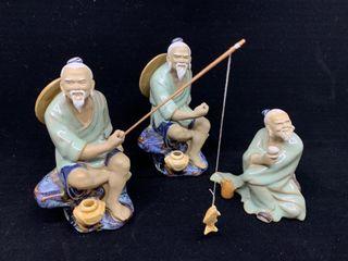 3   Chinese Export Decorative Figurines