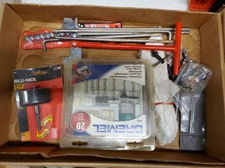 Dremel tools  bits  asst