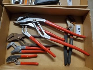 6   Channel locks or Groove Pliers