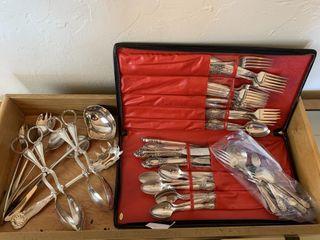 Godinger Silver Plated Flatware Set