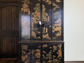 Chinoiserie Style Entertainment Center