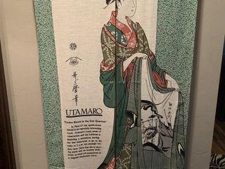Utamaro Tapestry Art and Hardware