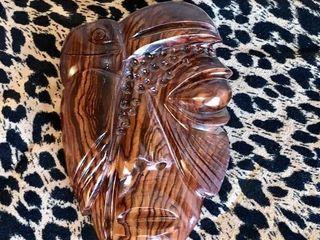 Wooden Toucan Tribal Mask