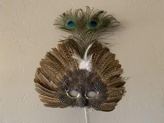 Peacock Gala Mask