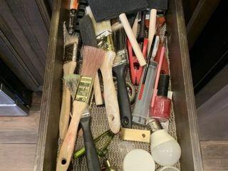 Asst  Paint Brushes  etc