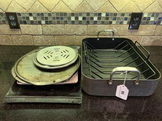 Roasting Pan  Baking Sheets  etc