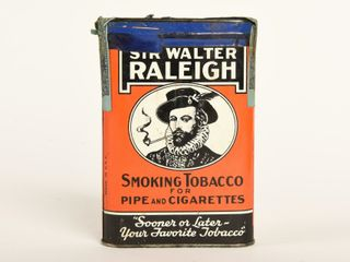 SIR WAlTER RAlEIGH SMOKING TOBACCO POCKET POUCH