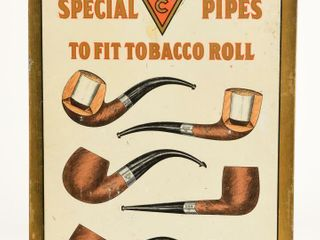 WDC SPECIAl PIPES TO FIT TOBACCO ROll SST SIGN