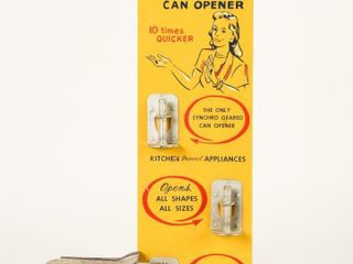 SWING A WAY AUTOMATIC CAN OPENER DEAlER DISPlAY