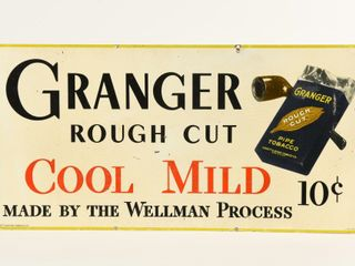 GRANGER ROUGH CUT PIPE TOBACCO SST SIGN
