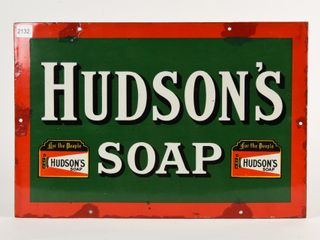 HUDSON S lNS SOAP  FOR THE PEOPlE  SSP SIGN