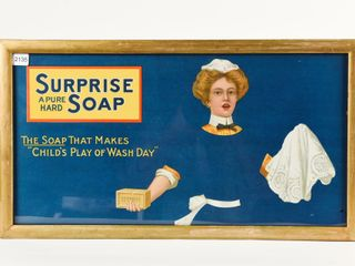 SURPRISE SOAP  CHIlD S PlAY OF WASH DAY  ADVERT