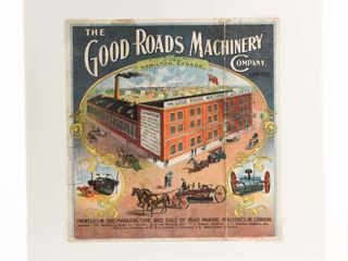 CANADIAN GOOD ROADS MACHINERY HAMIlTON PAPER ADV