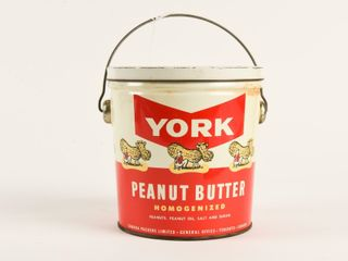 CANADA PACKERS YORK PEANUT BUTTER 4 lBS  PAIl