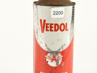 VEEDOl OUTBOARD MOTOR OIl U S  QT  CONE TOP CAN