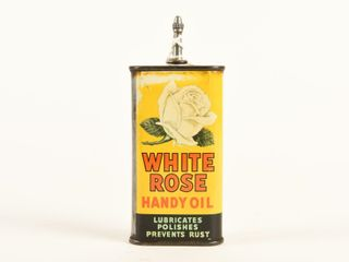 WHITE ROSE HANDY OIl 3 OZ  OIlER  SOME CONTENT