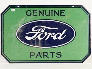 GENUINE FORD PARTS DSP SIGN