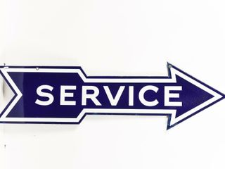 FORD SERVICE ARROW DSP SIGN