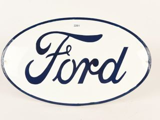 FORD SSP OVAl SIGN