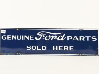 GENUINE FORD PARTS SOlD HERE SSP SIGN