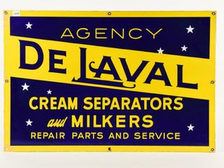 DE lAVAl AGENCY REPAIR PARTS AND SERVICE SSP SIGN