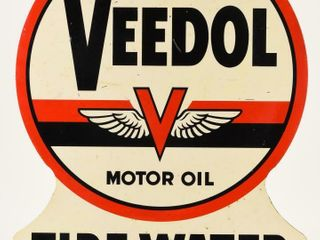 VEEDOl MOTOR OIl CREDIT CARDS HONORED D S SIGN