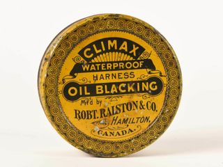 ClIMAX WATERPROOF HARNESS OIl BlACKING CAN