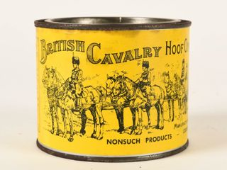 BRITISH CAVAlRY HOOF OINTMENT 15 3 4 OZS  CAN FUll