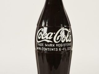 COCA COlA 6 OZS GlASS STORE ADVERTISING BOTTlE