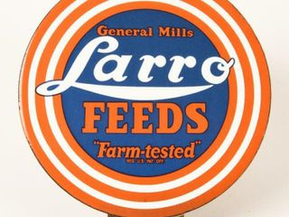 GENERAl MIllS lARRO FEEDS PORC  lICENSE PlATE TOPR