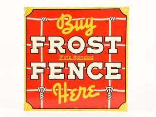 BUY FROST FENCE HERE SST EMBOSSED SIGN