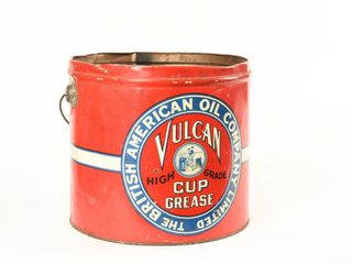 BRITISH AMERICAN OIl VUlCAN CUP GREASE PAIl